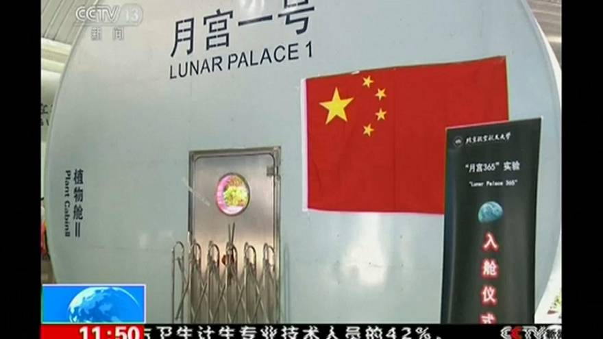 الصين ترسل رواد فضاء للعيش على القمر