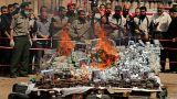 عقوبة الإعدام بحق تاجرَي مخدرات في غزة