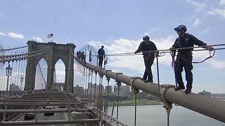 США: екстремальні тренування поліцейських Нью-Йорка
