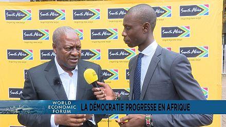 """John Dramani Mahama : """"je regrette cette étiquette de corruption qui humilie les pays africains"""""""