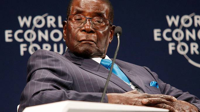 Mugabe not sleeping but 'resting his eyes'