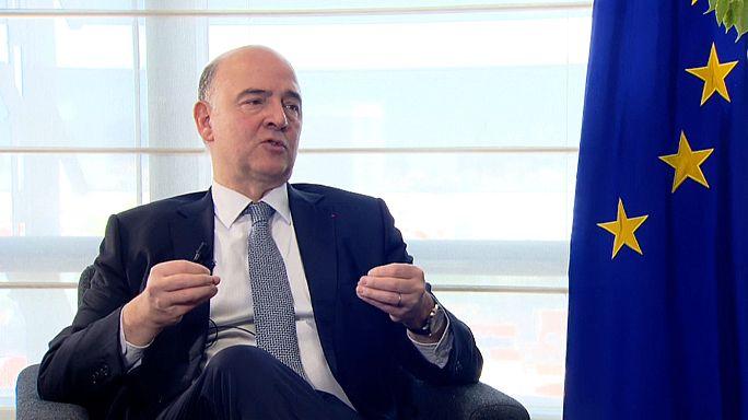 Zone euro : Bruxelles revoit ses prévisions de croissance