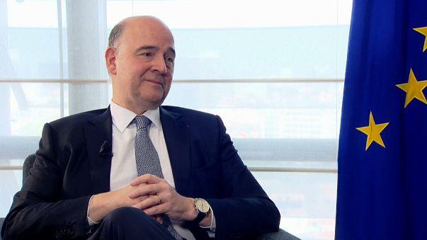 Еврокомиссия пересмотрела прогноз для еврозоны