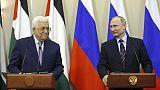 عباس يرحب بمقترح بوتين بإجراء لقاء يضمهما ونتنياهو