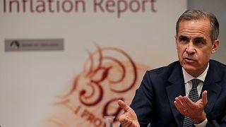 Banco de Inglaterra revê em baixa crescimento da economia