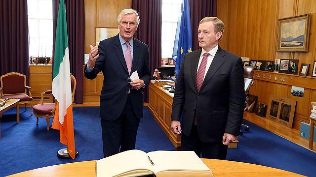 Barnier: 'İrlanda ile Kuzey İrlanda arasında sabit sınır istemiyoruz'