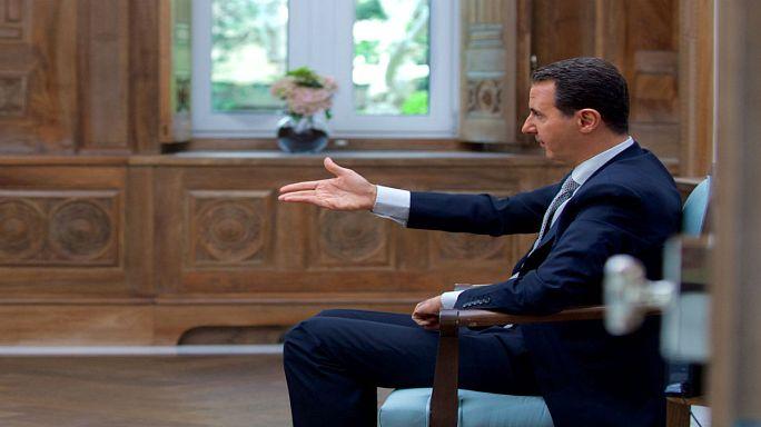 الأسد يقول إنه لن يتراجع عن محاربة أعداءه