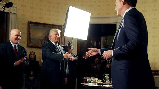 Trump slams Comey, acting FBI chief contradicts president