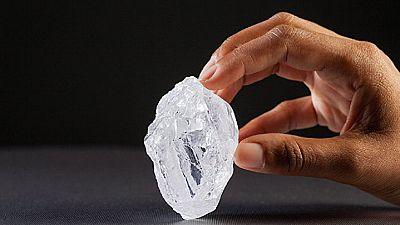 Le diamant sera vendu