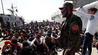 Lybie : près de 500 migrants ont été interceptés par les gardes-côtes
