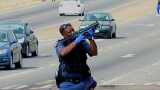 South Africa's housing protest enters fourth day, clashes continue