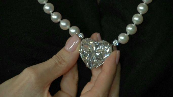 Diamante 'a lenda' vai a leilão