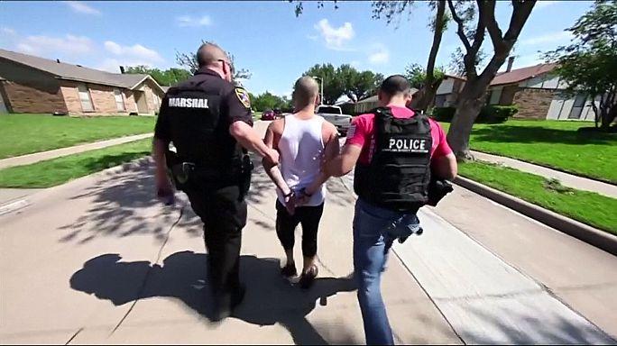 ABD'de çoğunluğu göçmen 1378 kişi gözaltına alındı