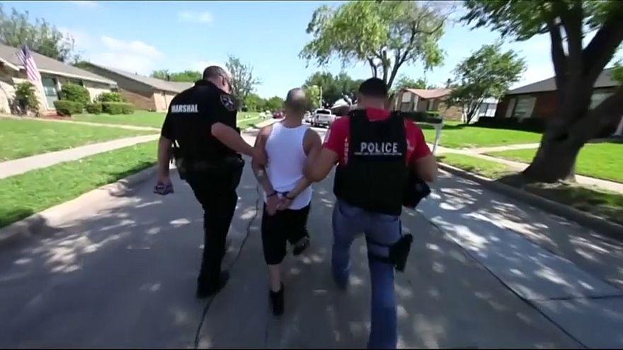 Cerca de 1400 detenidos en Estados Unidos en una masiva redada antibandas