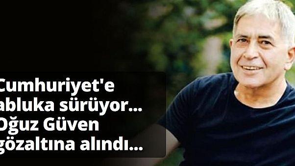 """السلطات التركية توقف رئيس تحرير لصحيفة """"جمهورييت"""" المعارضة"""