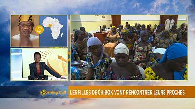 """Nigeria: les lycéennes de Chibok rencontreront leurs parents """"la semaine prochaine""""(Abuja)"""