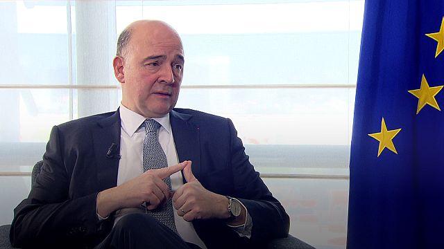 Interview: EU's Moscovici hails Macron win