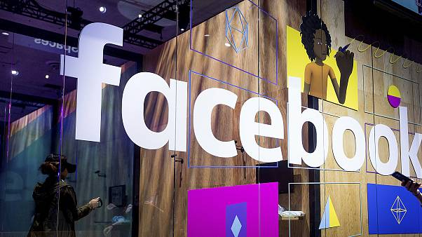 A demo booth at Facebook's annual F8 developer conference on April 18, 2017