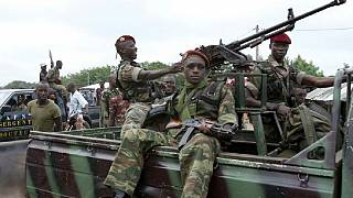 Gunfire heard at Ivory Coast military headquarters