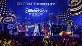 Crotian pop-opera, Romanian yodelling and Hungarian gypsy fusion in Eurovision final