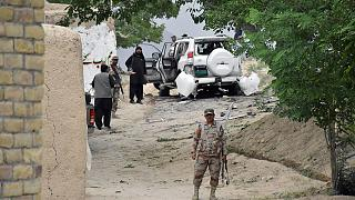 Pakistan bombing 'targets Senate deputy chairman'