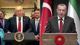 US arming of Syrian Kurds will dominate Turkish president's visit to Washington