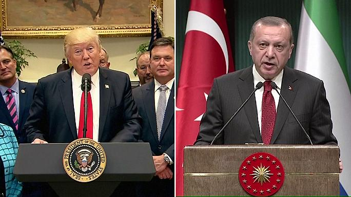 US arming of Syrian Kurds will dominate Turkish president's visit to Washington