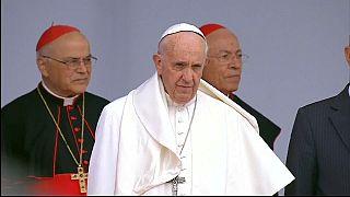 O Papa Francisco já está em Portugal