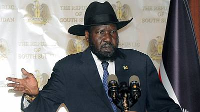 "South Sudan's president says ousted army chief ""in a fighting mood"""
