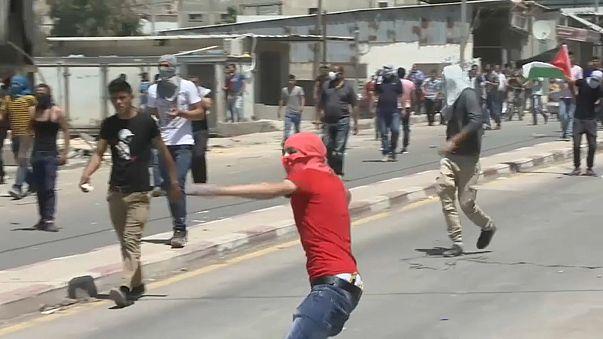 Un palestino muerto por disparos israelíes en Cisjordania