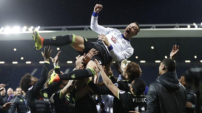 A Chelsea nyerte az angol labdarúgó-bajnokságot
