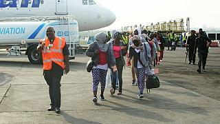 Hundreds more Nigerians return home from crisis-hit Libya