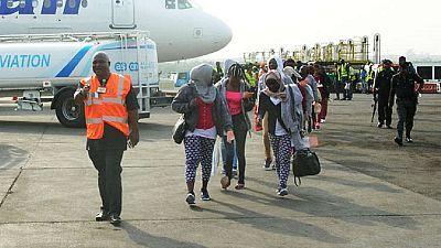 Hundreds more Nigerians return home from crisis-hit Libya