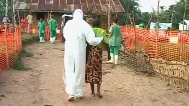 Todesopfer durch Ebola-Virus
