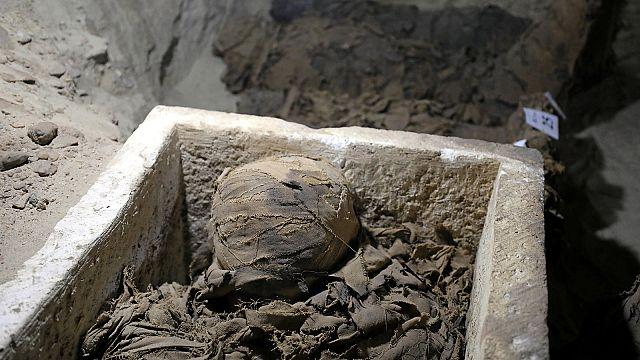 Egypte : 17 momies découvertes dans le centre du pays