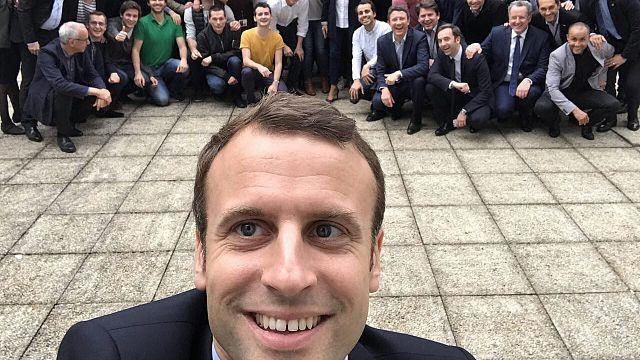 Internet-Hype, Memes und mehr: Das Dankeschön-Selfie von Präsident Macron