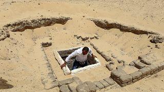 کشف اجساد مومیایی در مصر