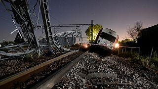 Ελλάδα: Τρεις οι νεκροί από το σιδηροδρομικό δυστύχημα στο Άδενδρο