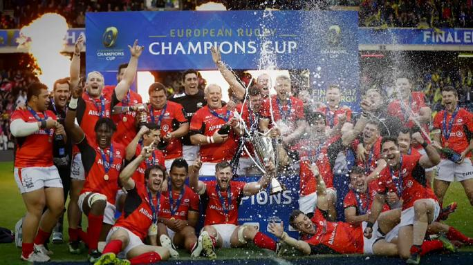 Avrupa Rugby Şampiyonası'nı Saracens kazandı