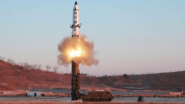 КНДР испытала баллистическую ракету нового типа