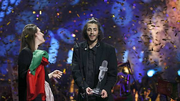 ESC: Portugal gewinnt Eurovision Song Contest - Deutschland auf dem vorletzten Platz.