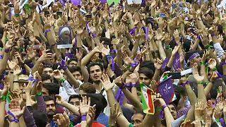 Recta final de la campaña electoral en Irán