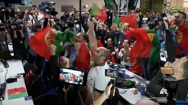 Le Portugal remporte sa première Eurovision