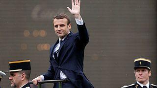 ادای سوگند امانوئل ماکرون، رئیس جمهور جدید فرانسه