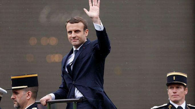 Macron investido presidente con un discurso en donde defiende liberalizar el trabajo