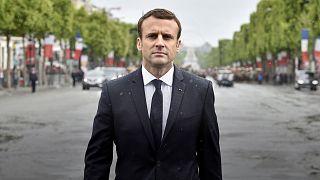 Emmanuel Macron officiellement président