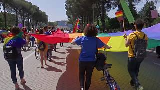 Annual gay pride parade in Albania