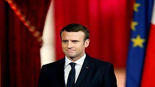 France : investiture de Macron