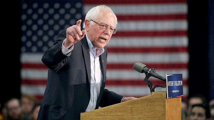 Image: Bernie Sanders Campaigns Across Iowa Ahead Of Caucuses