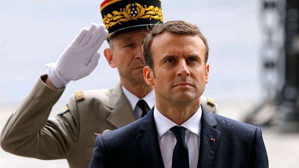 شاهد...ماكرون رئيسا لفرنسا